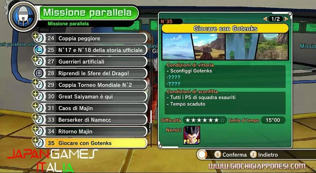 Dragon Ball Xenoverse Guida Missioni ALTERNATIVE