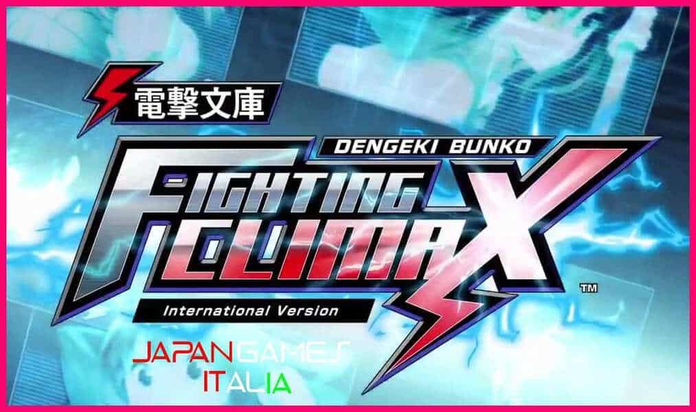 DENGEKI BUNKO FIGHTING CLIMAX IGNITION 2 NUOVI PERSONAGGI CON DLC