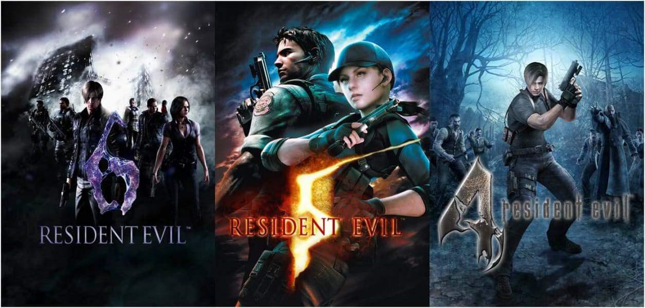 Resident evil 4.5.6