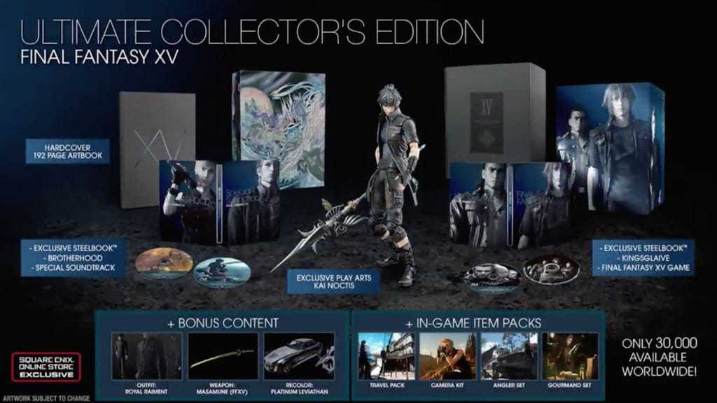 FFXV-Ultimate Collector's Edition