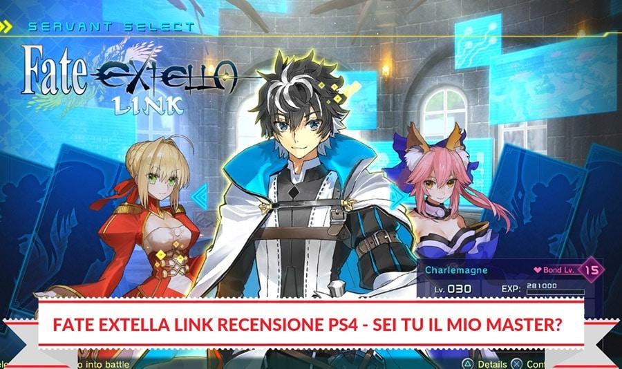 Fate Extella Link Recensione PS4 - Sei tu il mio Master