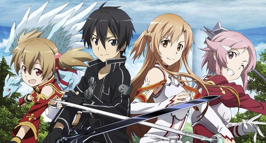 6 Migliori Anime Simili a Sword Art Online da Guardare Assolutamente